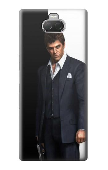 Printed Scarface Sony Xperia 10 Case