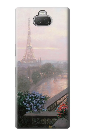 Printed Terrace in Paris Eifel Sony Xperia 10 Case