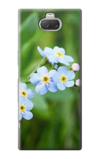 Printed Forget Me Not Sony Xperia 10 Case