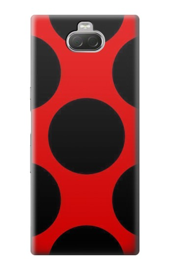 Printed Lady bug Dot Pattern Sony Xperia 10 Case