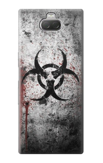 Printed Biohazards Biological Hazard Sony Xperia 10 Case