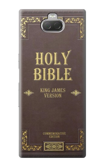 Printed Holy Bible Cover King James Version Sony Xperia 10 Case