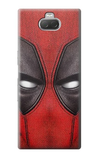 Printed Deadpool Mask Sony Xperia 10 Case