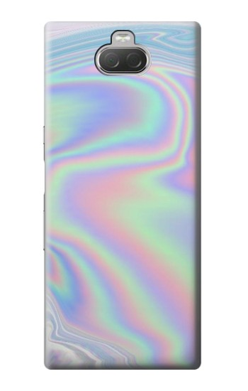 Printed Pastel Holographic Photo Printed Sony Xperia 10 Case