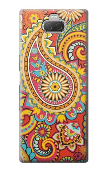 Printed Floral Paisley Pattern Seamless Sony Xperia 10 Case