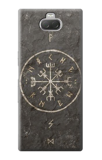 Printed Norse Ancient Viking Symbol Sony Xperia 10 Case