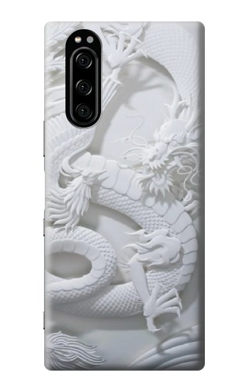 Printed Dragon Carving Sony Xperia 5 Case