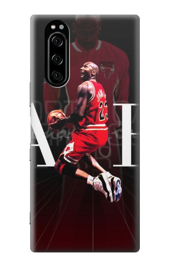 Printed Basketball Air Jordan Sony Xperia 5 Case