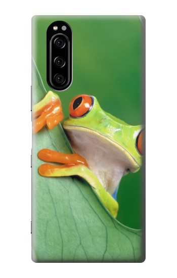 Printed Little Frog Sony Xperia 5 Case