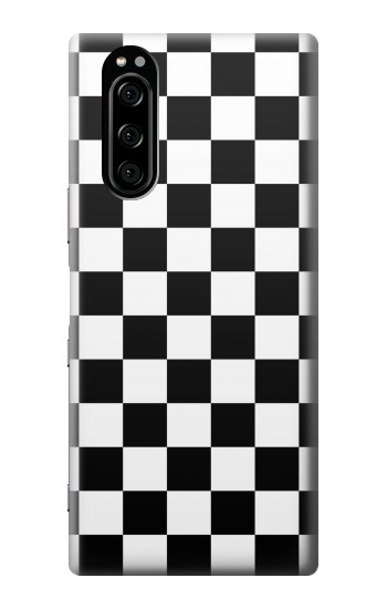Printed Checkerboard Chess Board Sony Xperia 5 Case