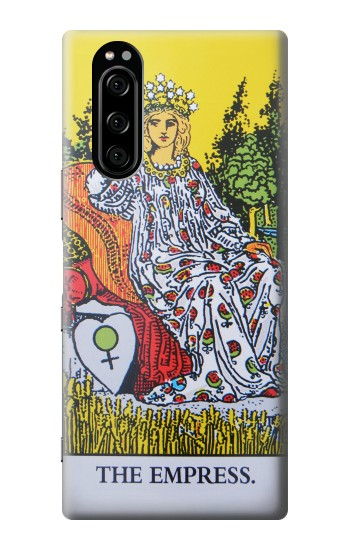 Printed Tarot Card The Empress Sony Xperia 5 Case
