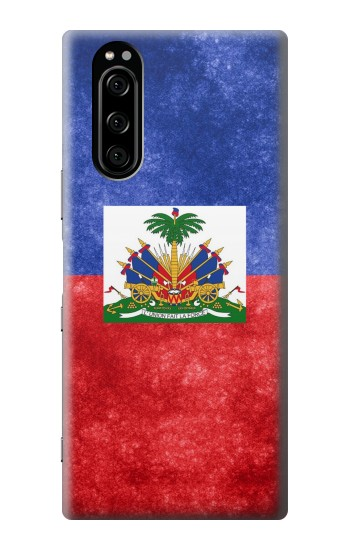 Printed Haiti Flag Sony Xperia 5 Case