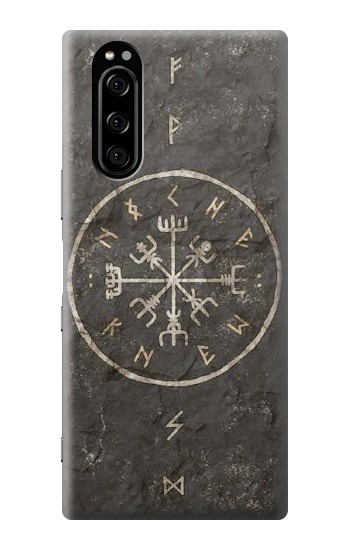 Printed Norse Ancient Viking Symbol Sony Xperia 5 Case