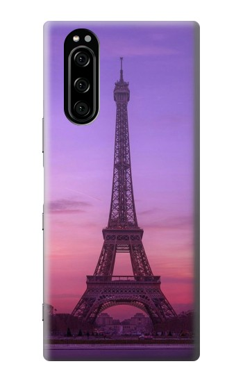 Printed Eiffel Paris Sunset Sony Xperia 5 Case