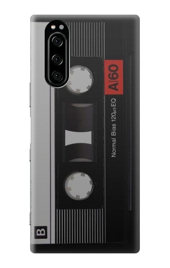 Printed Vintage Cassette Tape Sony Xperia 5 Case