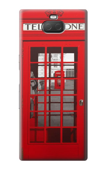 Printed Classic British Red Telephone Box Sony Xperia 10 Plus Case