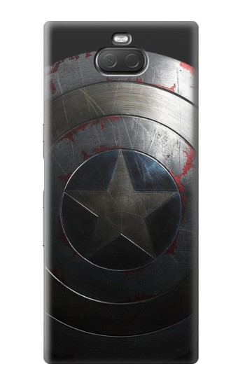 Printed Captain Shield Sony Xperia 10 Plus Case