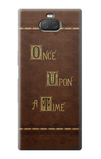Printed Once Upon A Time Book Sony Xperia 10 Plus Case