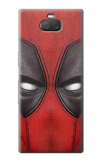 Printed Deadpool Mask Sony Xperia 10 Plus Case