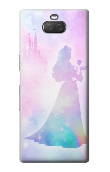 Printed Princess Pastel Silhouette Sony Xperia 10 Plus Case