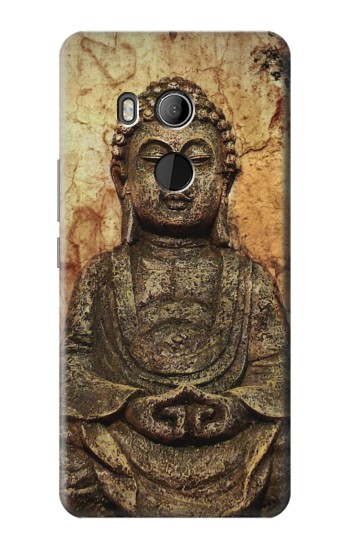 Printed Buddha Rock Carving HTC U11 Eyes Case