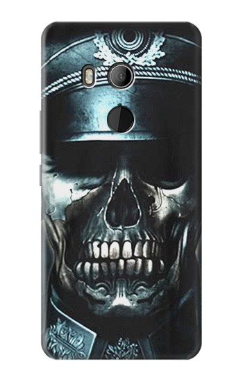 Printed Skull Soldier Zombie HTC U11 Eyes Case