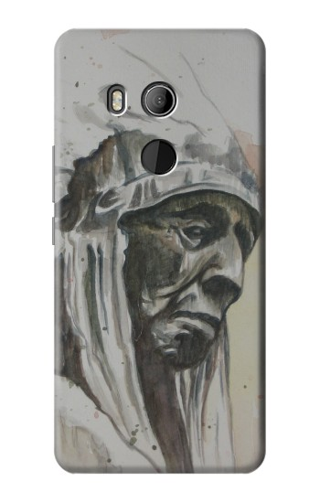 Printed Indian Chief HTC U11 Eyes Case