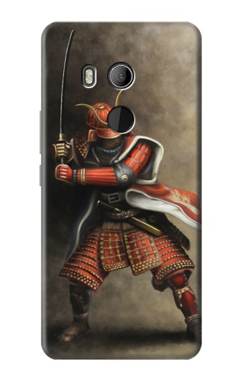 Printed Japan Red Samurai HTC U11 Eyes Case