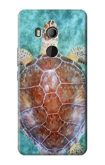 Printed Sea Turtle HTC U11 Eyes Case