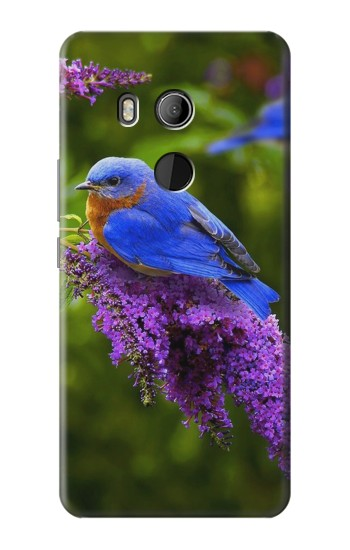Printed Bluebird of Happiness Blue Bird HTC U11 Eyes Case