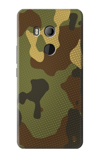 Printed Camo Camouflage Graphic Printed HTC U11 Eyes Case