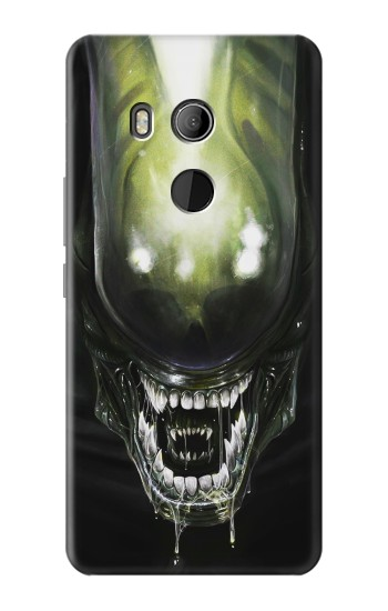 Printed Alien Head HTC U11 Eyes Case