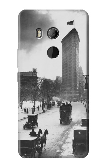 Printed Old New York HTC U11 Eyes Case