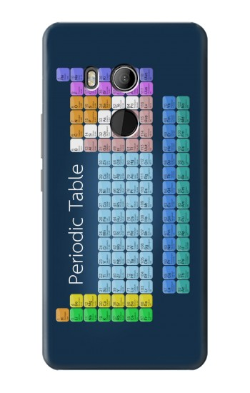 Printed Periodic Table HTC U11 Eyes Case