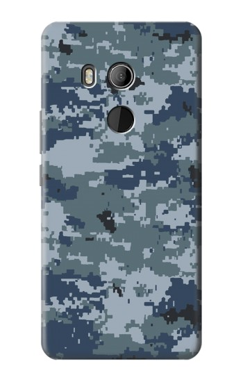 Printed Navy Camo Camouflage Graphic HTC U11 Eyes Case