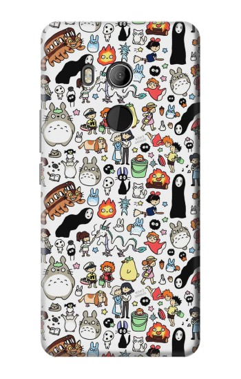 Printed Ghibli Characters HTC U11 Eyes Case