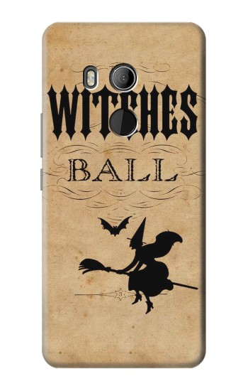 Printed Vintage Halloween The Witches Ball HTC U11 Eyes Case