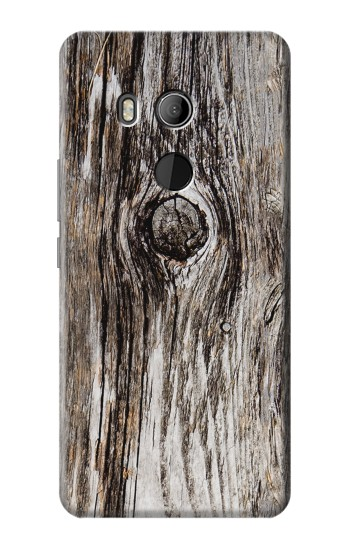 Printed Old Wood Bark Printed HTC U11 Eyes Case