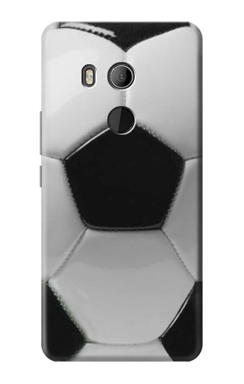 Printed Soccer Football Ball HTC U11 Eyes Case