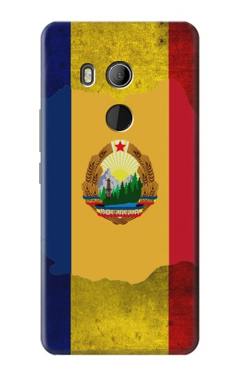 Printed Romania Flag HTC U11 Eyes Case