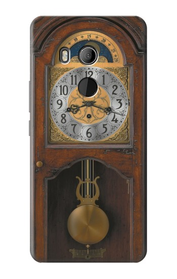 Printed Grandfather Clock Antique Wall Clock HTC U11 Eyes Case