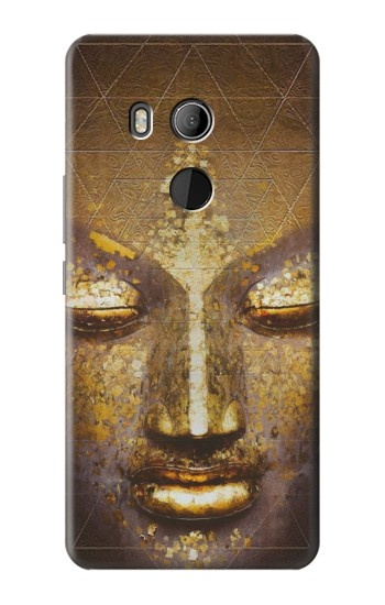 Printed Magical Yantra Buddha Face HTC U11 Eyes Case