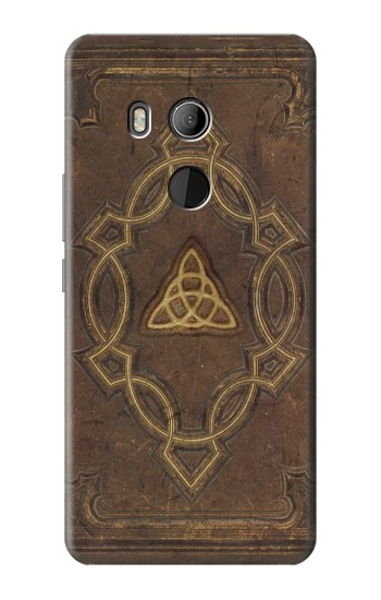Printed Spell Book Cover HTC U11 Eyes Case