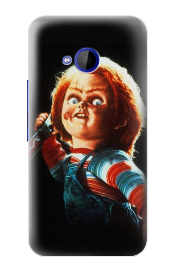 Printed Chucky With Knife HTC U11 Life Case