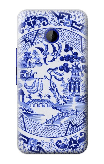 Printed Willow Pattern Illustration HTC U11 Life Case
