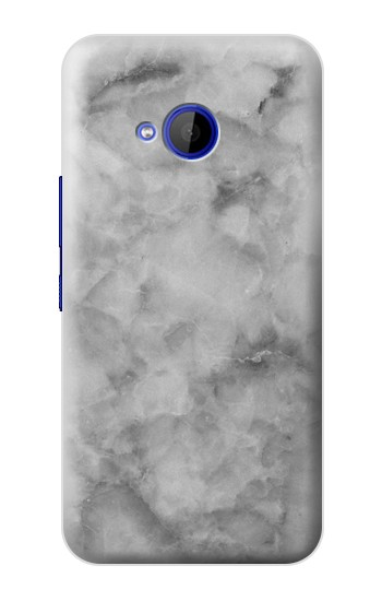 Printed Gray Marble Texture HTC U11 Life Case