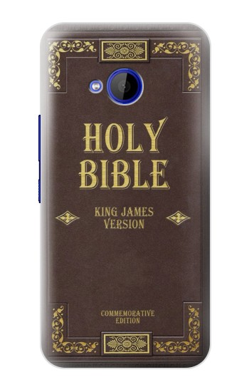 Printed Holy Bible Cover King James Version HTC U11 Life Case