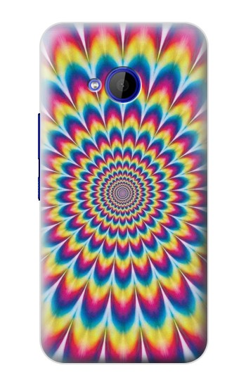 Printed Colorful Psychedelic HTC U11 Life Case