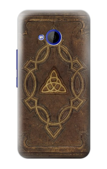 Printed Spell Book Cover HTC U11 Life Case