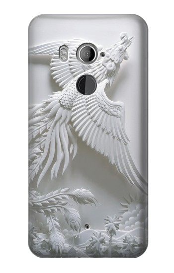 Printed Phoenix Carving HTC U11+ Case